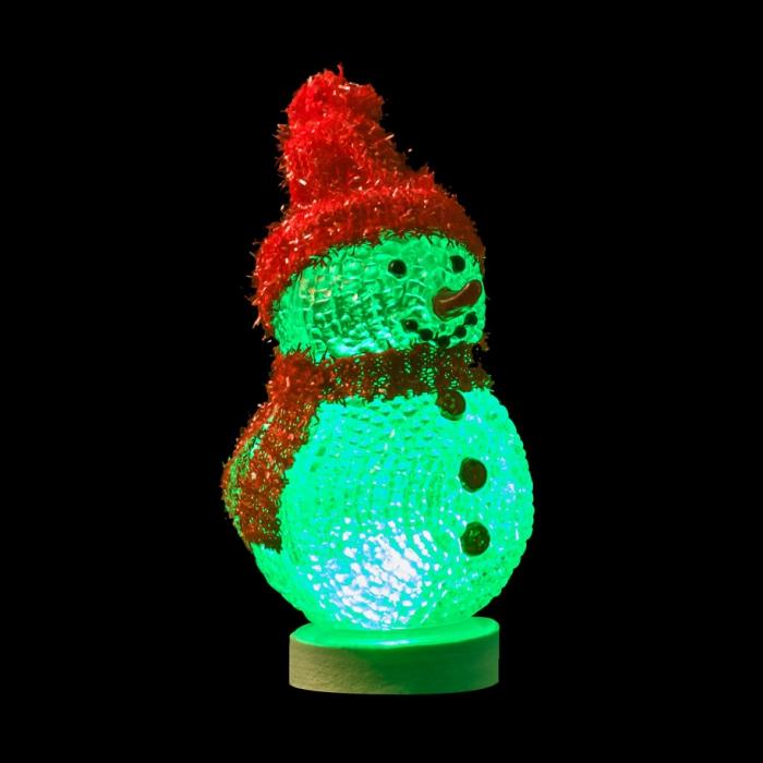 USB снеговик с многоцветной подсветкой NY 070 Интернет-магазин компании Double S Electronics